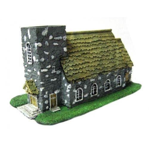 Scenery - Wargame 10/15mm - Home (Type 1) - ES222 - UNPAINTED USED