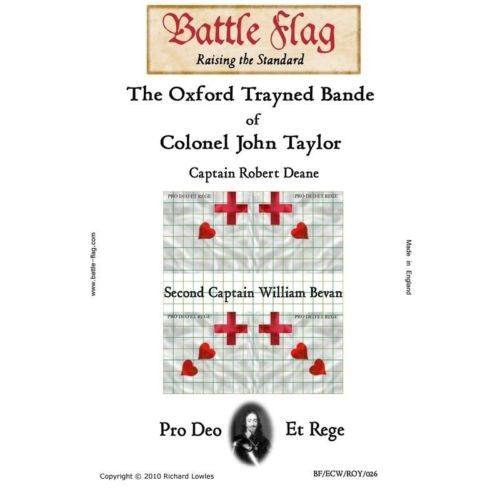 Battle Flag - The Oxford Trayned Bande of Colonel John Taylor - 28mm