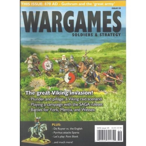 Magazines - SOLDIERS & STRATEGY - ISSUE 59 - the great viking invasion