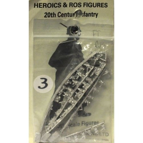 Heroics & Ros figures - Soviet infantry heavy weapons - 1:300