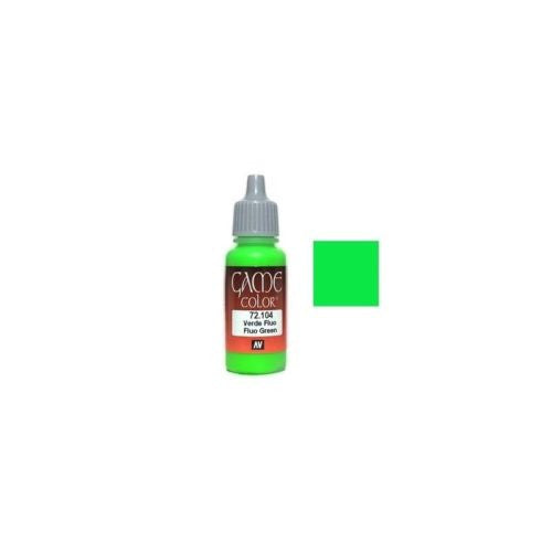 Vallejo Game Color - 72104 - Fluo Green - 17ml