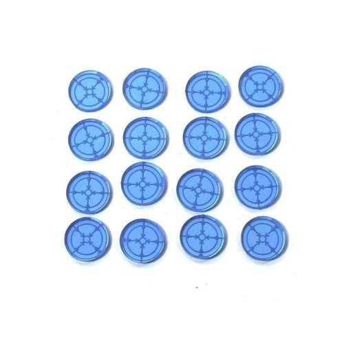 4GROUND - Blue Marker Light/Lock On Tokens (16) - MG-TAM-148B