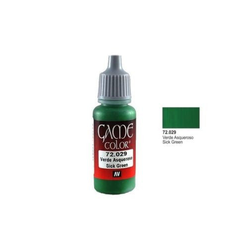 Vallejo Game Color 72029 - Sick Green
