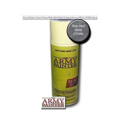 The Army Painter CP3008 - Color primer Platemail metal - 400ml