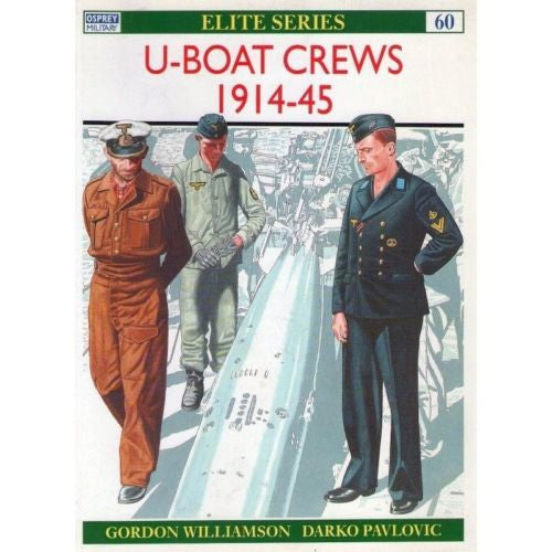 Osprey - Elite Series - N.60 - U-Boat crews 1914-45
