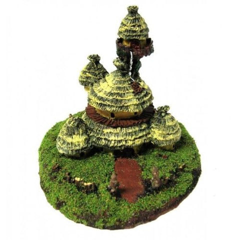 Forge World for Warmaster - Orc Boss House (scale 10mm) - PAINTED - ES232