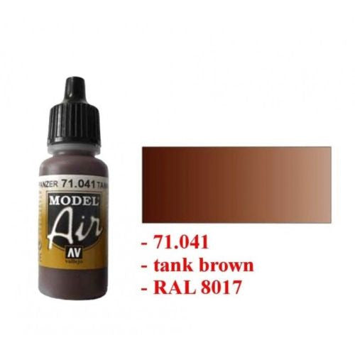 Vallejo Model Air Color 71041 - Armour brown