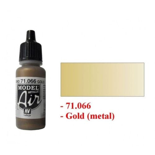 Vallejo Model Air Color 71066 - Metallic gold