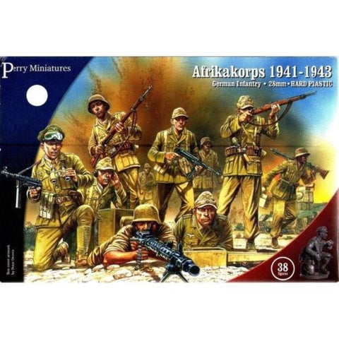 Perry - Afrikakorps 1941-1943 (german infantry) - 28mm