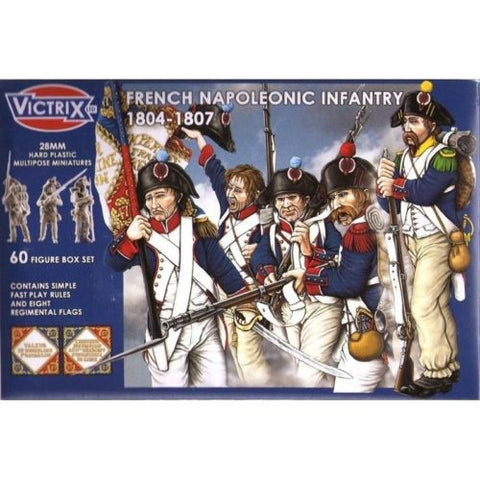 Victrix - French napoleonic infantry 1804-1807 - 28mm