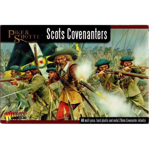 Warlord Games WGP-04 - Pike & Shotte - Scots covenanters - 28mm