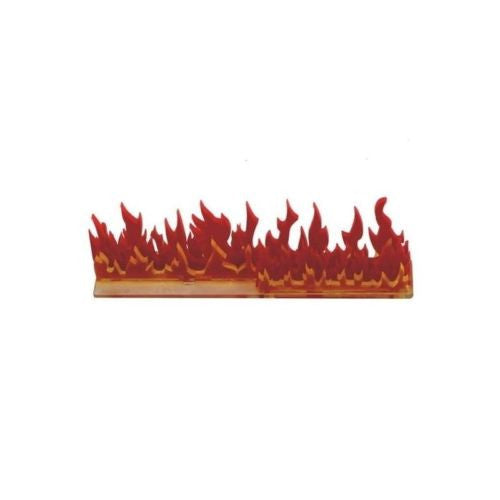 "4GROUND - 6"" Linear Fire Wall Acrylic Marker - MG-TAM-128"