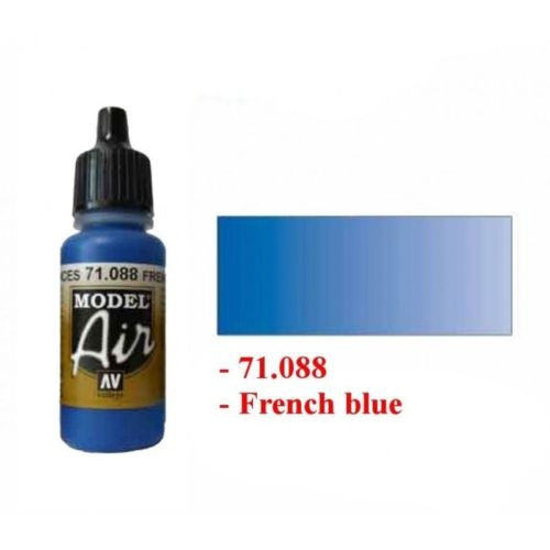 Vallejo Model Air Color - 71088 - French blue - 17ml
