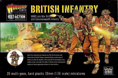 Warlord Games - Bolt Action - WGB-BI-01 - British infantry (WWII) - 28mm