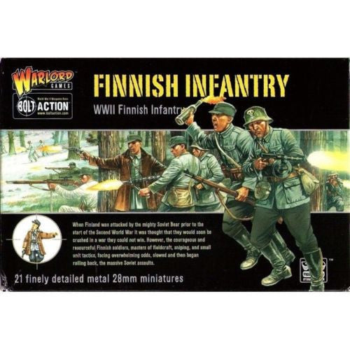 Warlord Games - Bolt Action - Finnish infantry (WWII Finnish infantry) - 28mm