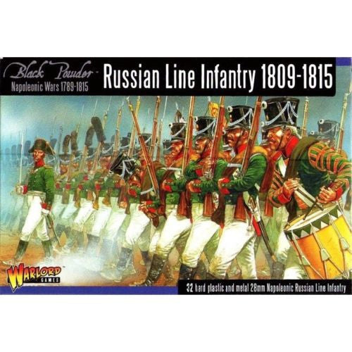 Warlord Games - Black Powder - Russian line infantry 1809-1815 - 28mm