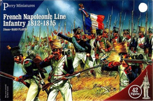 Perry FN100 - French Napoleonic - Line Infantry 1812-1815 - 28mm