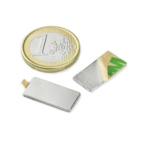 Magnets - Magnetic parallelepiped 20x10mm (20 pz.) - Q-20-10-01-STIC