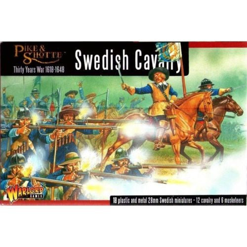 Warlord Games - WGP-14 - Pike & Shotte - Swedish cavalry - 28mm