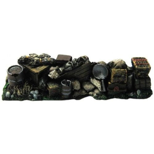 Scenery - Wargame - Sandbagged emplacement  - 28mm - ES106 used