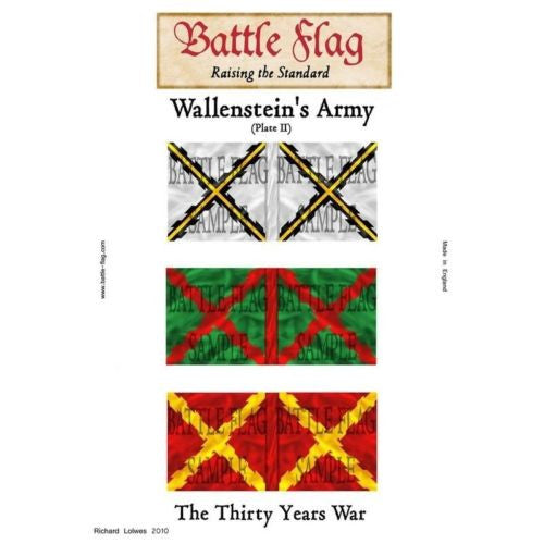 Battle Flag - Wallenstein Plate  II (Thirty Years War) - 28mm