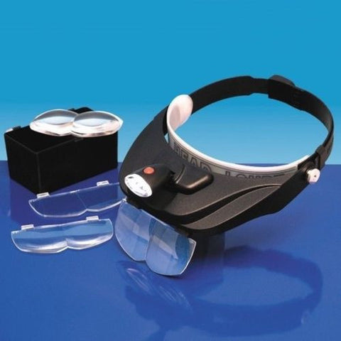 LightCraft - S-LC1765 - Deluxe led headband magnifier kit