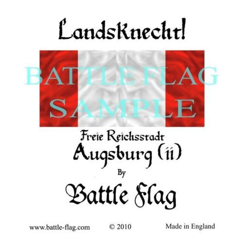 Battle Flag - Augsburg (ii) (Renaissance & Landsknecht) - 28mm