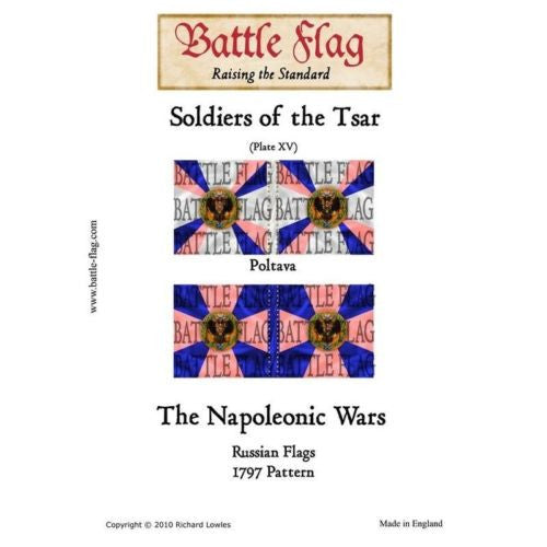 Battle Flag - Soldiers of the Tsar (plate XV) (Napoleonic War) - 28mm