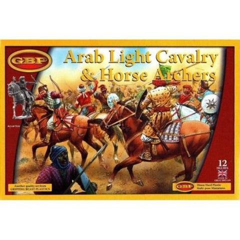 Gripping Beast - Arab light cavalry & horse archers - 28mm - GBP06
