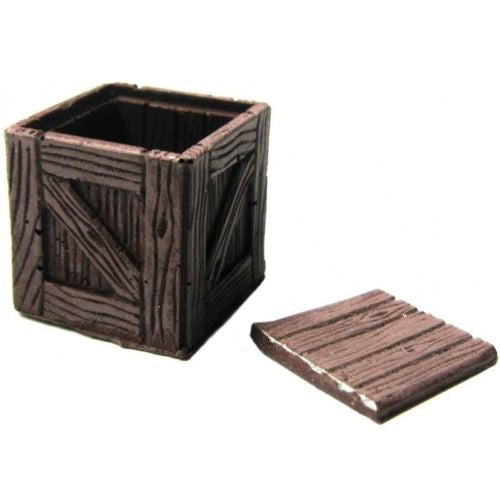 Scenery - Wargame - Cash box openable - 28mm - ES15 USED