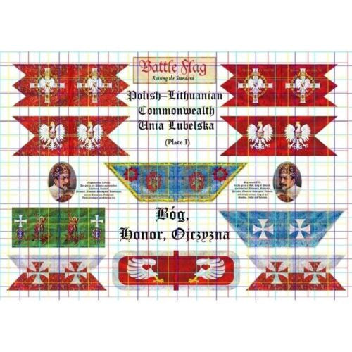 Battle Flag - Flags of the Polish-Lithuanian Commonwealth (Renaissance) - 28mm
