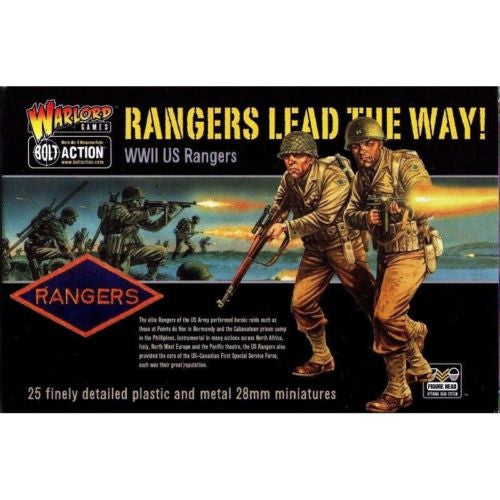 Warlord Games - Bolt Action - Rangers lead the way! (WWII US Rangers) - 28mm