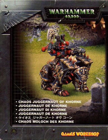 Warhammer 40.000 - Chaos Juggernaut of Khorne - 28mm