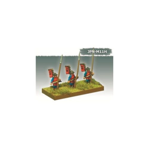 Castle Art's - Ashigaru armed with long Yari (30 pz.) - 10mm