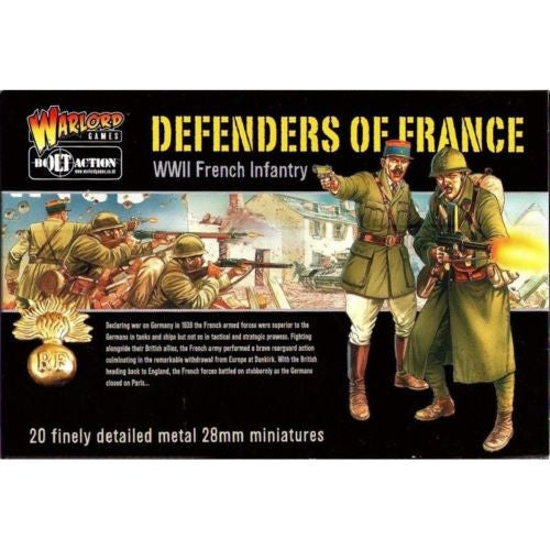 Bolt Action - WGB-FI-01 - Defenders of France (WWII French infantry) - 28mm