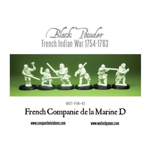 Warlord Games - Black Powder - French companie de la marine D - 28mm