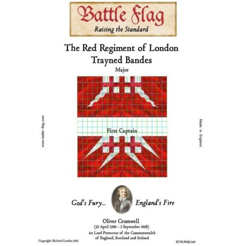 Battle Flag - The Red Regiment of London Trayned Bande B - 28mm