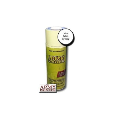 The Army Painter - Base primer Matt white - 400ml