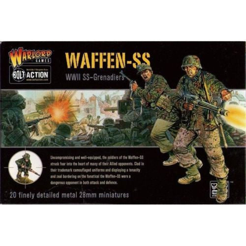 Warlord Games WGB-SS-01 - Bolt Action - Waffen-SS (WWII SS-Grenadiers) - 28mm