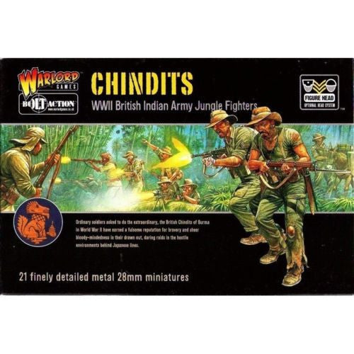 Warlord Games - Bolt Action - Chindits (WWII British indian army jungle fighters) - 28mm