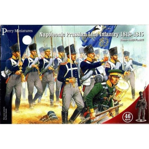 Perry - PN01 - Napoleonic prussian line infantry 1813-1815 - 28mm