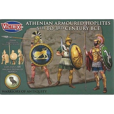 Victrix - Athenian armoured hoplites 5° to 3° century BCE - 28mm