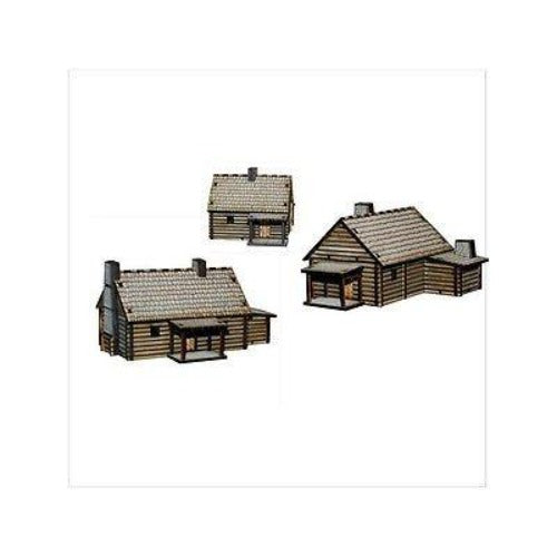 4GROUND - New England log Cabins - 15mm - 15S-AML-101