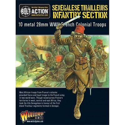 Warlord Games - Bolt Action - Senegalese tirailleurs infantry section - 28mm
