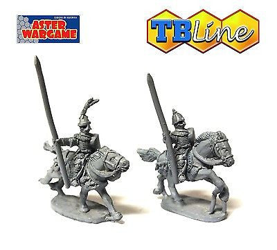 TB LINE 4182 - Russian heavy knights with lance - 10mm