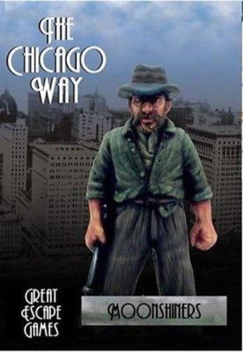 Great Escape Games - The Chicago way - Moonshiners - 28mm