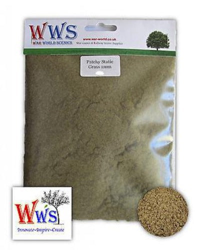 WWS - Static grass - Patchy mix (250g.) 1mm