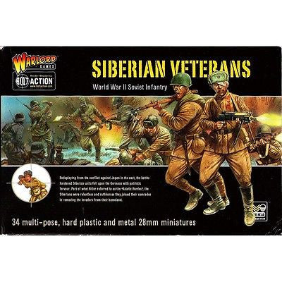 Warlord Games - Bolt Action - Siberian veterans (WWII Red army infantry) - 28mm