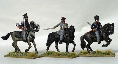Perry PN3 - Prussian Mounted field officers - 28mm