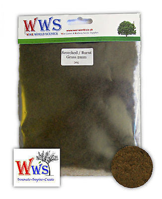 WWS - Static grass - Scorched grass (30g.) - 2mm